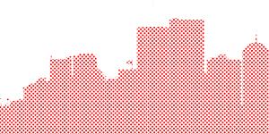 Commercial buildings illustration