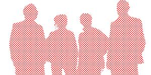 Business people illustration representing Strata